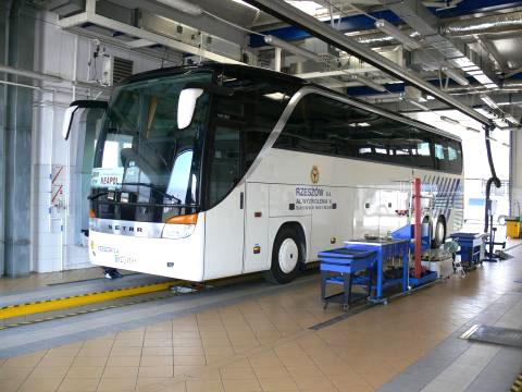 Badania techniczne autobusów