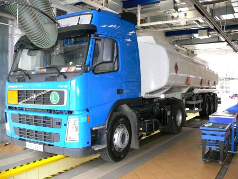 Badania samochodów ciężarowych