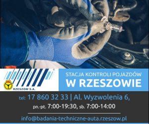 Badanie techniczne pojazdow nauki jazdy - Rzeszów