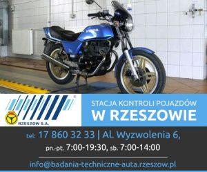 przegląd techniczny motoru Rzeszów